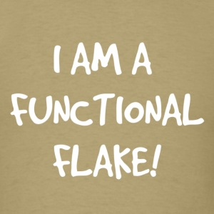 Functional_Flake - Men's T-Shirt