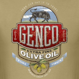 Genco Extra Fine Olive Oil - Men's T-Shirt