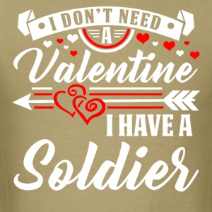Valentinesday - SOLDIER T-Shirt and Hoodie - Men's T-Shirt