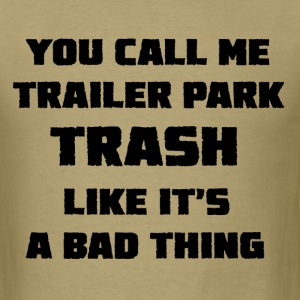 Trailer Park designs - Men's T-Shirt