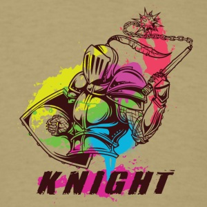 cOLORFUL KNIGHT - Men's T-Shirt