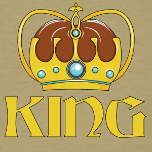 KING CROWN - Men's T-Shirt