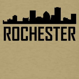 Rochester New York City Skyline - Men's T-Shirt