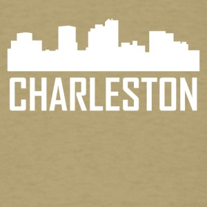 Charleston West Virginia City Skyline - Men's T-Shirt