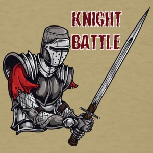 KNIGHT BATTLE - Men's T-Shirt