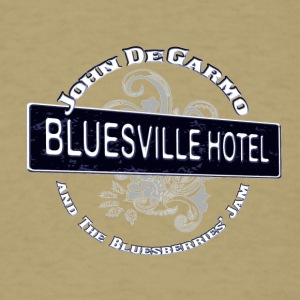 John DeGarmo and the Bluesberries Jam Merchandise - Men's T-Shirt