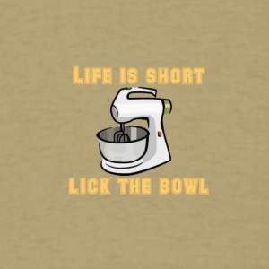 life is short - Men's T-Shirt