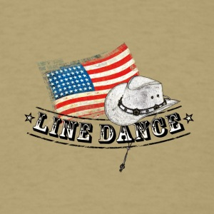 linedance01 - Men's T-Shirt