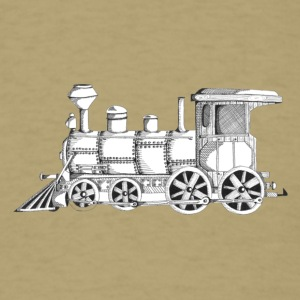 steam train - Men's T-Shirt