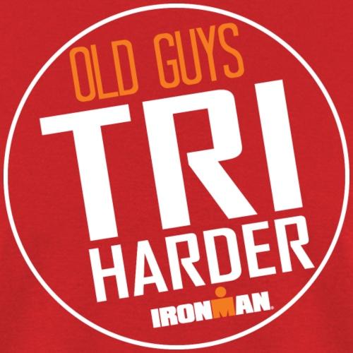 old guys grahpic - Men's T-Shirt