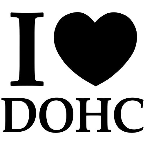 I Love DOHC - Men's T-Shirt