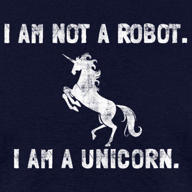 unicorn tall white