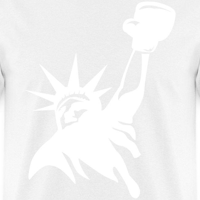 Lady Liberty t-shirt blac