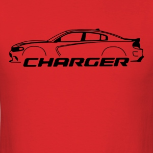 Black Dodge Charger - Men's T-Shirt