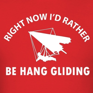 hang gliding designs - Men's T-Shirt