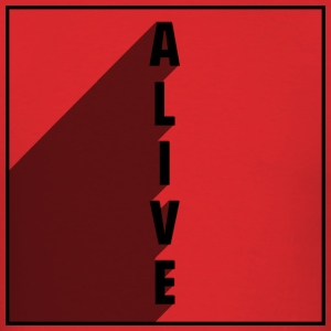Alive - Men's T-Shirt