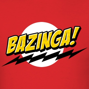 BAZINGA ! - Men's T-Shirt