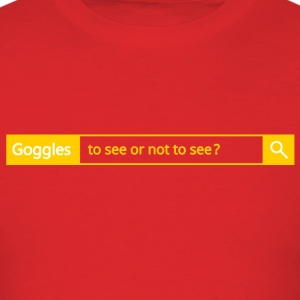 Different search engine - Goggles - Men's T-Shirt