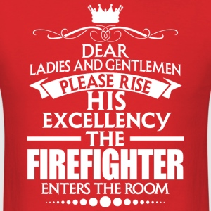FIREFIGHTER - EXCELLENCY - Men's T-Shirt