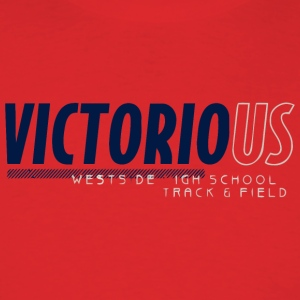 Victorious Westside High School Track Field - Men's T-Shirt