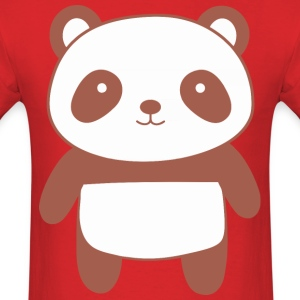 Cute and Kawaii Panda Bear - Men's T-Shirt