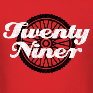 Twenty Niner. Mountain Biking. - Men's T-Shirt