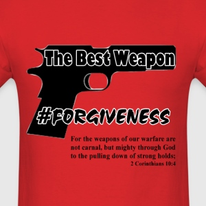 Forgiveness black - Men's T-Shirt