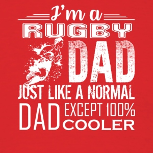 RUGBY DAD LOVE TEE SHIRT - Men's T-Shirt