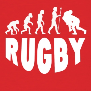 Rugby Evolution - Men's T-Shirt