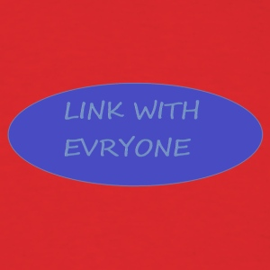link with everyone - Men's T-Shirt