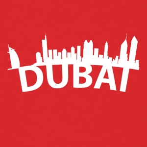 Arc Skyline Of Dubai United Arab Emirates - Men's T-Shirt