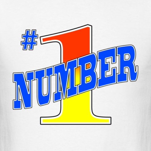 1number - Men's T-Shirt