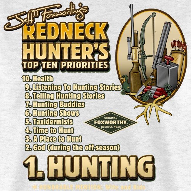 redneck top 10 priorities