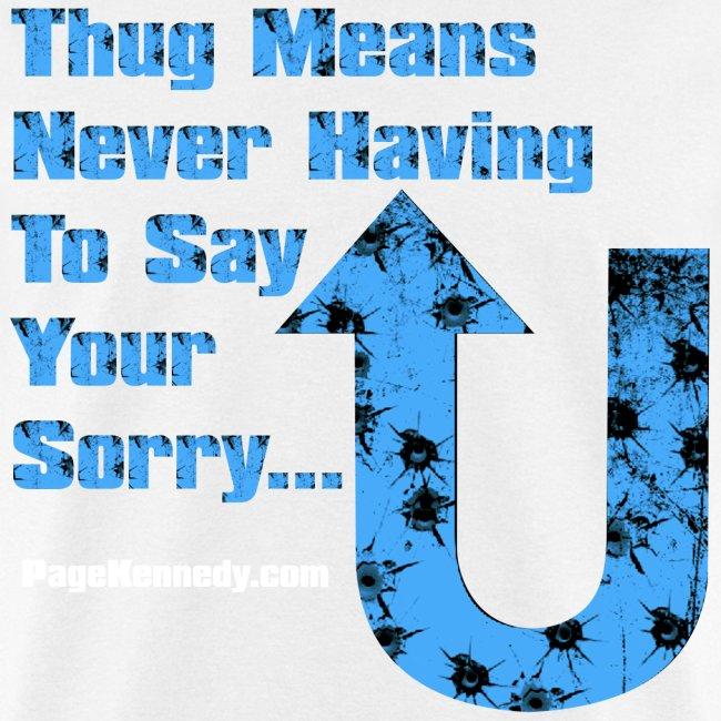 thug means blue