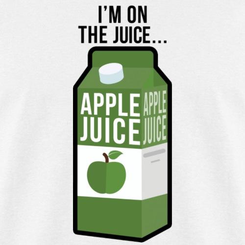 I'm on the apple juice - Men's T-Shirt