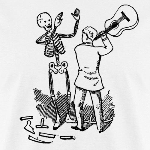 Dying For Bad Music Black Print Unbranded - Men's T-Shirt