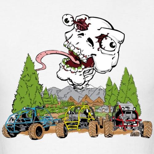 Tri Buggy Cartoon - Men's T-Shirt