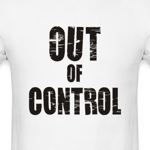 Joe Strummer – Out of control - Men's T-Shirt
