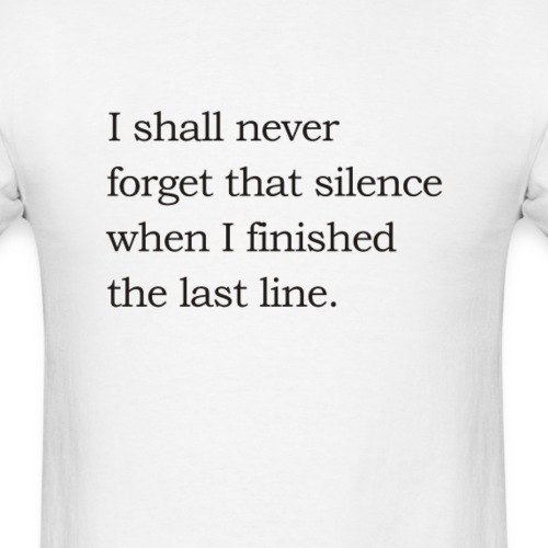 Noel Gallagher - I shall never forget that silence - Men's T-Shirt