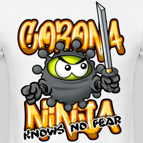 Corona Ninja - Men's T-Shirt