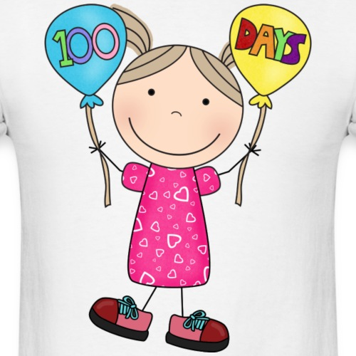 100Days 5 png - Men's T-Shirt