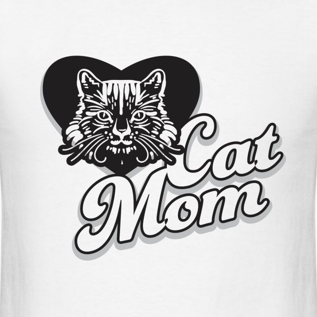 Cat Mom, Cat Mum, Cat Mother, Funny Mother's Day