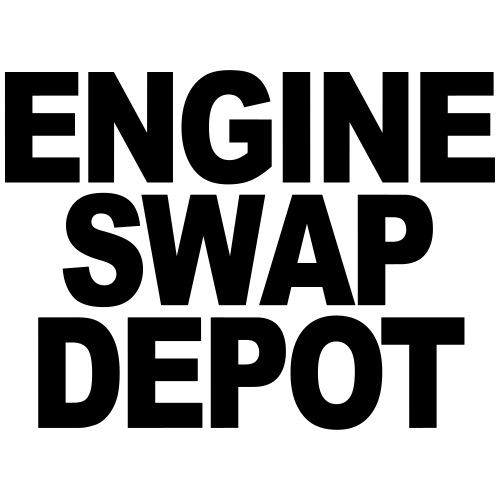 Engine Swap Depot Text - Men's T-Shirt