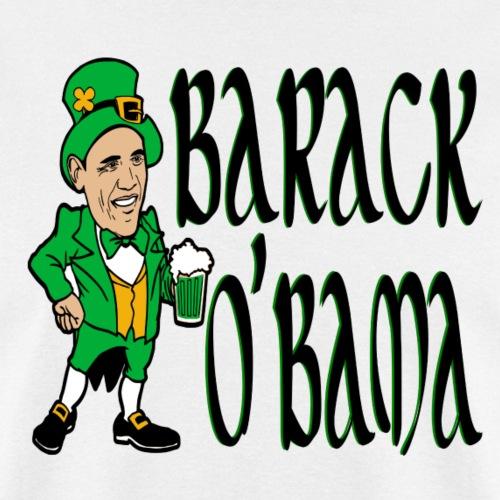 Irish Barack O'Bama Leprechaun Funny - Men's T-Shirt