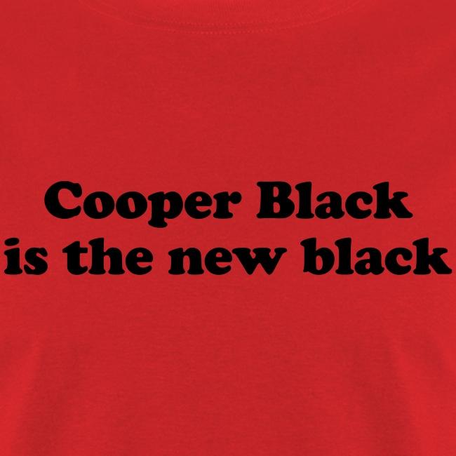 Cooper Black is the new black