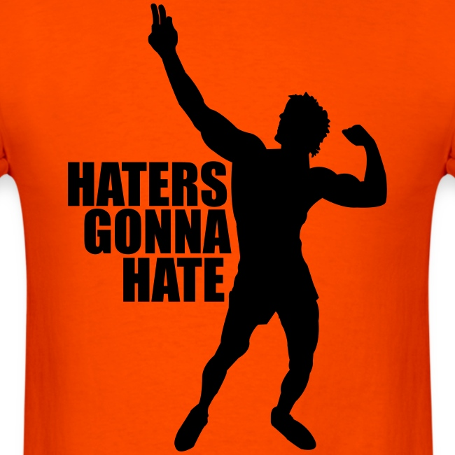 Zyzz Silhouette Haters Gonna Hate