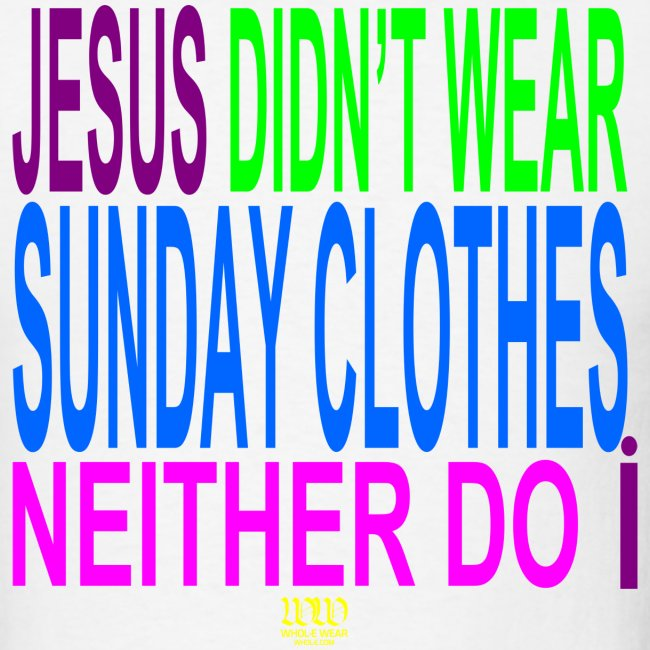 ***12% Rebate - See details!*** NO SUNDAY CLOTHES