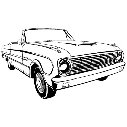 63 Ford Falcon Sprint Conv Men's T-Shirt - Men's T-Shirt