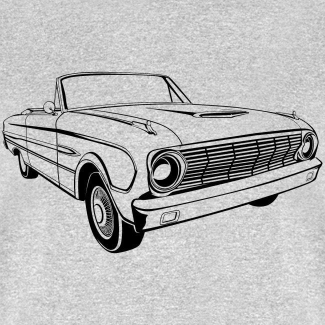 63 Ford Falcon Sprint Conv Men's T-Shirt