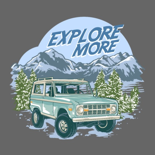 Bronco Truck Explore more II Graphic T-Shirt - Men's T-Shirt